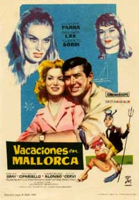 Vacations in Majorca - 11 x 17 Movie Poster - Spanish Style A