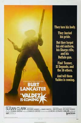 Valdez Is Coming - 27 x 40 Movie Poster - Style A