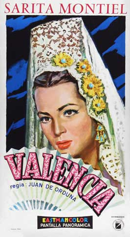 Valencia - 11 x 17 Movie Poster - Italian Style A