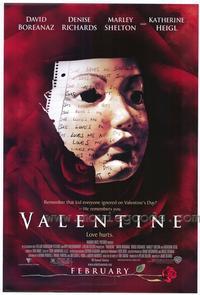 Valentine - 11 x 17 Movie Poster - Style B
