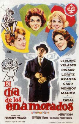 Valentine's Day - 11 x 17 Movie Poster - Spanish Style A