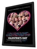 Valentine's Day - 11 x 17 Movie Poster - Style B - in Deluxe Wood Frame