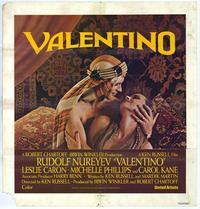 Valentino - 11 x 17 Movie Poster - Style B
