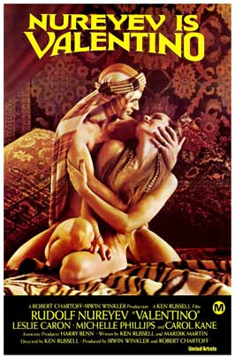 Valentino - 27 x 40 Movie Poster - Australian Style A