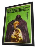 Valerie And Her Week Of Wonders - 11 x 17 Movie Poster - Czchecoslovakian Style A - in Deluxe Wood Frame