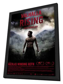 Valhalla Rising - 27 x 40 Movie Poster - Danish Style A - in Deluxe Wood Frame