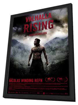 Valhalla Rising - 11 x 17 Movie Poster - Danish Style A - in Deluxe Wood Frame