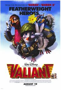 Valiant - 43 x 62 Movie Poster - Bus Shelter Style A