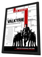 Valkyrie - 11 x 17 Movie Poster - Style C - in Deluxe Wood Frame