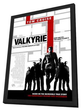 Valkyrie - 27 x 40 Movie Poster - Style B - in Deluxe Wood Frame