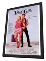 Valley Girl - 27 x 40 Movie Poster - Style A - in Deluxe Wood Frame