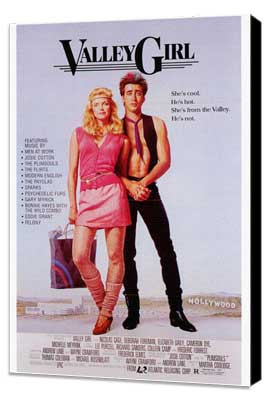 Valley Girl - 27 x 40 Movie Poster - Style A - Museum Wrapped Canvas