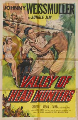 Valley of Head Hunters - 11 x 17 Movie Poster - Style A