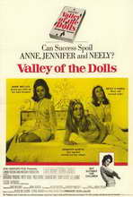 Valley of the Dolls - 11 x 17 Movie Poster - Style B