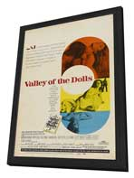 Valley of the Dolls - 27 x 40 Movie Poster - Style C - in Deluxe Wood Frame