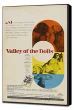 Valley of the Dolls - 27 x 40 Movie Poster - Style C - Museum Wrapped Canvas