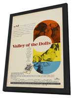 Valley of the Dolls - 11 x 17 Movie Poster - Style C - in Deluxe Wood Frame