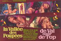 Valley of the Dolls - 11 x 17 Movie Poster - Belgian Style A