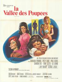 Valley of the Dolls - 43 x 62 Movie Poster - French Style A