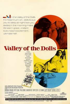 Valley of the Dolls - 27 x 40 Movie Poster - Style C