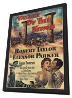 Valley of the Kings - 11 x 17 Movie Poster - Style A - in Deluxe Wood Frame