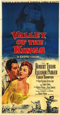 Valley of the Kings - 43 x 62 Movie Poster - Bus Shelter Style A