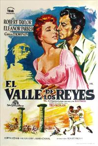 Valley of the Kings - 11 x 17 Movie Poster - Spanish Style A