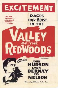 Valley of the Redwoods - 11 x 17 Movie Poster - Style A