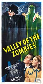 Valley of the Zombies - 11 x 17 Movie Poster - Style A