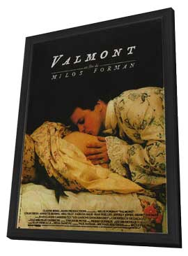 Valmont - 11 x 17 Movie Poster - French Style A - in Deluxe Wood Frame
