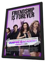 Vampire Academy - 11 x 17 Movie Poster - Style B - in Deluxe Wood Frame