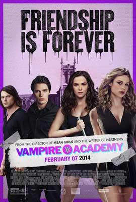 Vampire Academy - 11 x 17 Movie Poster - Style B