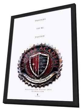 Vampire Academy - 11 x 17 Movie Poster - Style A - in Deluxe Wood Frame