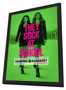 Vampire Academy - 11 x 17 Movie Poster - Style C - in Deluxe Wood Frame