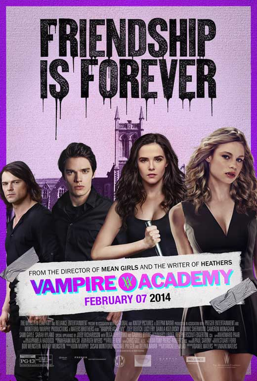 vampire academy movie posters from movie poster shop
