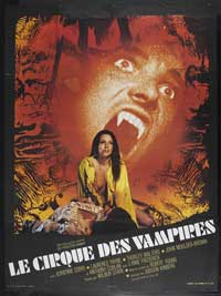 Vampire Circus - 11 x 17 Movie Poster - French Style A