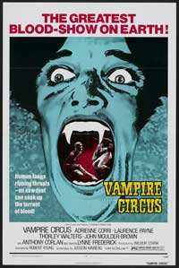 Vampire Circus - 11 x 17 Movie Poster - Style A