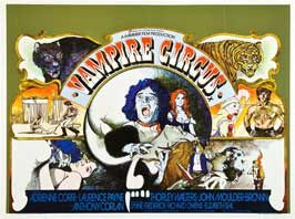 Vampire Circus - 27 x 40 Movie Poster - UK Style A