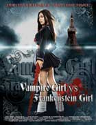 Vampire Girl vs. Frankenstein Girl - 11 x 17 Movie Poster - Style A