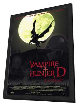 Vampire Hunter D: Bloodlust - 11 x 17 Movie Poster - Style A - in Deluxe Wood Frame