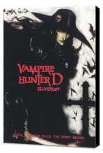 Vampire Hunter D - 27 x 40 Movie Poster - Style B - Museum Wrapped Canvas