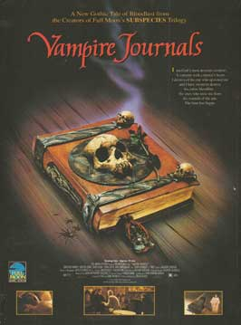 Vampire Journals - 11 x 17 Movie Poster - Style A