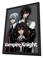 Vampire Knight - 11 x 17 Movie Poster - Japanese Style A - in Deluxe Wood Frame