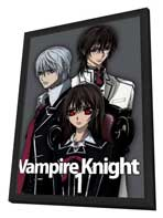 Vampire Knight - 27 x 40 Movie Poster - Japanese Style A - in Deluxe Wood Frame
