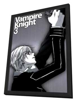 Vampire Knight - 11 x 17 Movie Poster - Japanese Style D - in Deluxe Wood Frame