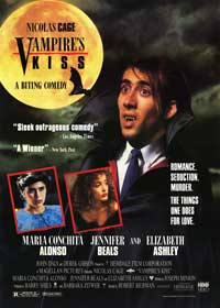 Vampire's Kiss - 27 x 40 Movie Poster - Style A