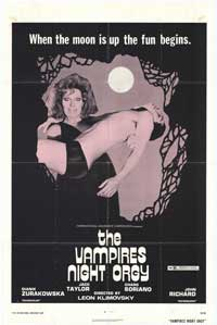 Vampires Night Orgy - 11 x 17 Movie Poster - Style A