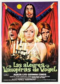 Vampires of Vogel - 11 x 17 Movie Poster - Spanish Style A