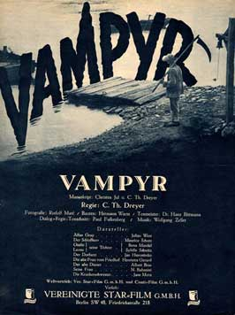 Vampyr - 11 x 17 Movie Poster - German Style A