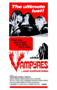 Vampyres - 27 x 40 Movie Poster - Style A